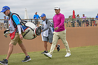 Fabian Gomez (ARG) makes his way down 11 during Round 2 of the Valero Texas Open, AT&amp;T Oaks Course, TPC San Antonio, San Antonio, Texas, USA. 4/20/2018.<br /> Picture: Golffile   Ken Murray<br /> <br /> <br /> All photo usage must carry mandatory copyright credit (&copy; Golffile   Ken Murray)