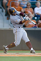 Arizona State Sun Devil third baseman RIccio Torrez #30 swings against the Texas Longhorns in NCAA Tournament Super Regional Game #3 on June 12, 2011 at Disch Falk Field in Austin, Texas. (Photo by Andrew Woolley / Four Seam Images)