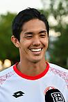 19.07.2017, Sportpark, Grassau, GER, FSP, FSV Mainz 05 vs FC Tokyo, im Bild Yoshinori Muto (Mainz #9) beim Interview<br /> <br /> Foto &copy; nordphoto / Hafner