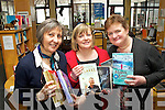 Pictured with some of the best selling books of 2012 at Kerry County Library were l-r: Aileen Lynch, Noreen O'Keeffe and Iris Connell.