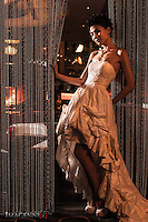 Wedding promotion photo for W Hotel Hong Kong..Model: Phuong Rouzaire.Makeup Artist: Rhine Wong.Hair Stylist: Tim Wong.Photographer: Imagennix | Scott Brooks.Location: Woobar