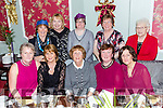 Enjoying the Presentation Convent Staff Christmas Party at the Imperial Hotel on Friday were Pictured l-r Rose O'Callaghan, Geraldine O Connor, Mary Hartnett, Noreen O'Leary, Anne Marie Clapp. Back l-r Noreen Guerin, Mary Hickson, Lousie O'Connor, Eta O'Connor, Joan Pitman