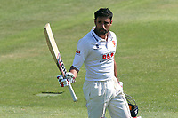 Ravi Bopara of Essex leaves the field having been dismissed for 192 during Essex CCC vs Warwickshire CCC, Specsavers County Championship Division 1 Cricket at The Cloudfm County Ground on 20th June 2017