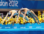Olympic Games 2012; Synchronised Swimming - Aquatics Centre- Duets; free routine preliminary..(JPN)