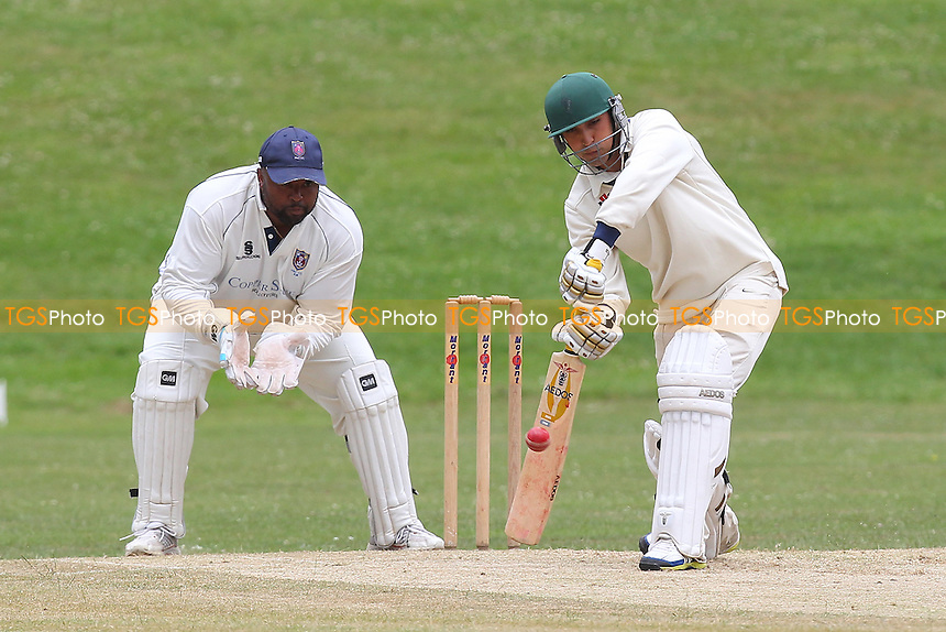 Ardleigh Green CC (batting) vs Hainault & Clayhall CC - Essex Cricket League - 28/06/14 - MANDATORY CREDIT: Gavin Ellis/TGSPHOTO - Self billing applies where appropriate - 0845 094 6026 - contact@tgsphoto.co.uk - NO UNPAID USE