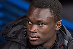 Pione Sisto Ifolo Emirmija of RC Celta de Vigo on the bench prior to the Copa del Rey 2016-17 Quarter-final match between Real Madrid and Celta de Vigo at the Santiago Bernabéu Stadium on 18 January 2017 in Madrid, Spain. Photo by Diego Gonzalez Souto / Power Sport Images