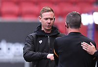 8th July 2020; Ashton Gate Stadium, Bristol, England; English Football League Championship Football, Bristol City versus Hull City; Dean Holden Caretaker Manager of Bristol City after the match
