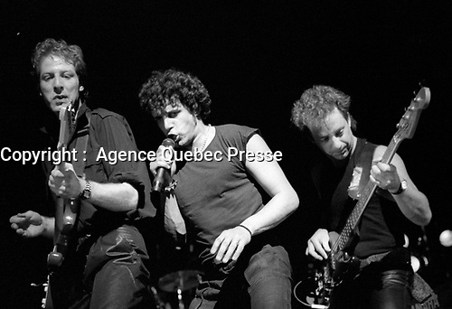 Julien Clerc au Theatre St-Denis, 7 avril 1984<br /> <br /> PHOTO :  Agence Quebec Presse