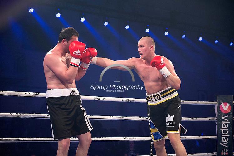 Beka Lobjanidze (Georgia) VS Otto Wallin (Sweden)<br /> NORDIC FIGHT NIGHT - Frederiksberg-Hallerne, Copenhagen - 2nd May 2015