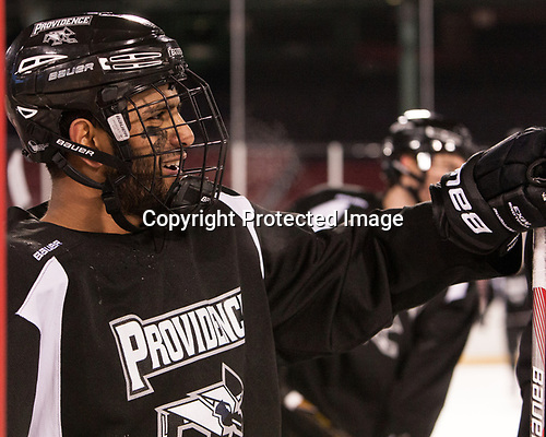 Vimal Sukumaran (PC - 22) - The Providence College Friars practiced at Fenway on Friday, January 6, 2017, in Boston, Massachusetts.