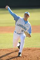 Matt Harvey (Pitcher) North Carolina Tar Heels (Photo by Tony Farlow/Four Seam Images)