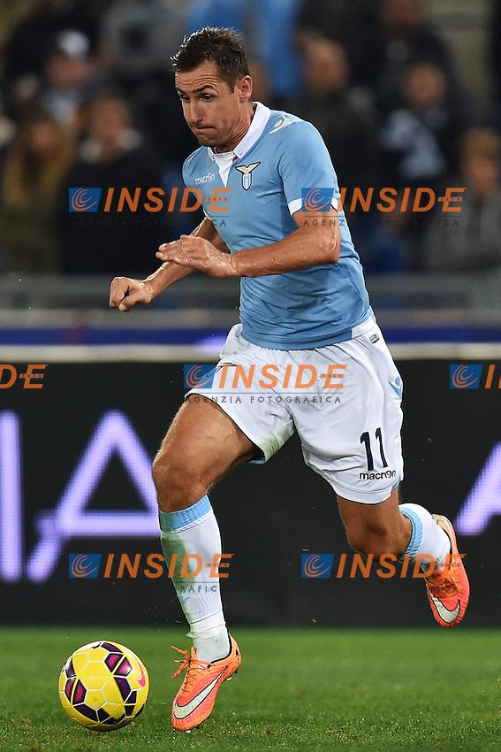 Miroslav Klose Lazio <br /> Roma 03-11-2014 Stadio Olimpico, Football Calcio Serie A 2014/2015 Lazio - Cagliari. Foto Andrea Staccioli / Insidefoto