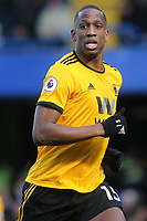 Willy Boly of Wolverhampton Wanderers during Chelsea vs Wolverhampton Wanderers, Premier League Football at Stamford Bridge on 10th March 2019