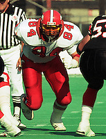 Eugene Belliveau Calgary Stampeders-1989. Photo Scott Grant