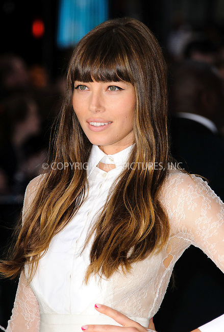 WWW.ACEPIXS.COM . . . . .  ..... . . . . US SALES ONLY . . . . .....August 16 2012, London....Jessica Biel at the premiere of 'Total Recall' held at Vue Leicester Square on August 16 2012 in London ....Please byline: FAMOUS-ACE PICTURES... . . . .  ....Ace Pictures, Inc:  ..Tel: (212) 243-8787..e-mail: info@acepixs.com..web: http://www.acepixs.com