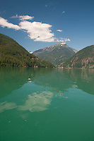 Diablo Lake, North Cascades National Park, Washington, US