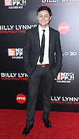 NEW YORK, NY-October 14:Arturo Castro, at NYFF54 Special Wortldf Premiere Presentation Billy Lynn's Halftime Walk at AMC Lincoln Square in New York.October 14 , 2016. Credit:RW/MediaPunch