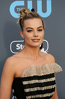 Margot Robbie attends the 23rd Annual Critics' Choice Awards at Barker Hangar in Santa Monica, Los Angeles, USA, on 11 January 2018. Photo: Hubert Boesl- NO WIRE SERVICE - Photo: Hubert Boesl/dpa /MediaPunch ***FOR USA ONLY***