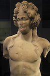 Israel, Jerusalem, statue of Dionysus from Beth Shean, 2nd century AD, at the Israel Museum