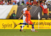 Philadelphia, PA - Tuesday June 14, 2016: Arturo Vidal during a Copa America Centenario Group D match between Chile (CHI) and Panama (PAN) at Lincoln Financial Field.