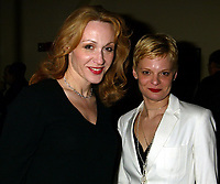 ***Jan Maxwell has passed away at the age of 61 after a long battle with cancer***<br /> ***FILE PHOTO*** Jan Maxwell and Martha Plimpton attend the Opening Night party for their new play SIXTEEN WOUNDED. <br /> Party held at Noche in New York City.<br /> Thursday, April 15, 2004<br /> CAP/MPI/JOM<br /> &copy;JOM/MPI/Capital Pictures