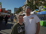 Daniel & Shelley McCarthy from Delhi, CA attend the 35th Annual Eldorado Great Italian Festival held in downtown Reno on Saturday, October 8, 2016.