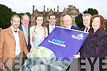 Launching The Gathering calendar of events in Muckross House on Saturday was l-r: Damian Foxhall Volvo Ocean Race winner , John Griffin, Ann Marie Hayes Kerry Rose, Tom Curran County Manager, Jimmy Deenihan Minister for Arts, Heritage, and The Gaelteacht, Pat Dawson Muckross House and Jemmy De Saulies Fáilte Ireland.