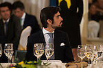 Miguel Angel Perera, winner of the 2015 prize Paquiro at the Ritz Hotel in Madrid. 01 October 2015.<br /> (ALTERPHOTOS/BorjaB.Hojas)