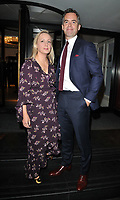 guest and David Jones at the Legends of Football 23rd annual football awards gala 2018, Grosvenor House Hotel, Park Lane, London, England, UK, on Monday 08 October 2018.<br /> CAP/CAN<br /> ©CAN/Capital Pictures