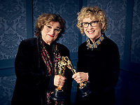 Oscar® winners Barbara Ling and Nancy Haigh during the 92nd Oscars® on Sunday, February 9, 2020 at the Dolby Theatre® in Hollywood, CA, televised live by the ABC Television Network.<br /> *Editorial Use Only*<br /> CAP/AMPAS<br /> Supplied by Capital Pictures
