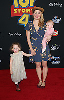 "11 June 2019 - Hollywood, California - Erika Christensen, family. Premiere Of Disney And Pixar's ""Toy Story 4""  held at El Capitan theatre. Photo Credit: Faye Sadou/AdMedia"