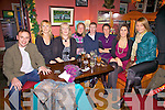 Cahersiveen Basket Bal Club held their Christmas Party at Franks Corner Bar in Cahersiveen on Saturday Night pictured here front l-r; John Teehan, Majella County, Catriona Fitzgerald, Mary Fogarty, Connie O'Connor, Marie Teehan, Michelle Dwyer & Ann Marie Dundon.
