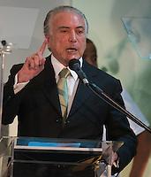 BRASILIA, DF, 17.11.2015 - PMDB-CONGRESSO- O presidente do PMDB  Michel Temer, discursa durante o Congresso da Fundação Ulysses Guimarães, nesta terça-feira, 17. (Foto: Ed Ferreira / Brazil Photo Press)