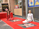 a_Idina Menzel, Kristen Bell -Double Stars 007 ,  Kristen Bell And Idina Menzel  Honored With Stars On The Hollywood Walk Of Fame on November 19, 2019 in Hollywood, California