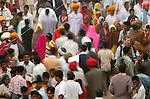 Street fair, Bundi, India