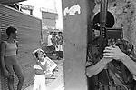 Exército ocupa morro de São Carlos, Rio de Janeiro - 1994. .Army occupies hill of São Carlos, Rio de Janeiro - 1994.