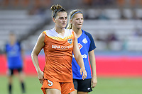 Houston, TX - Sunday August 13, 2017:  Cari Roccaro during a regular season National Women's Soccer League (NWSL) match between the Houston Dash and FC Kansas City at BBVA Compass Stadium.