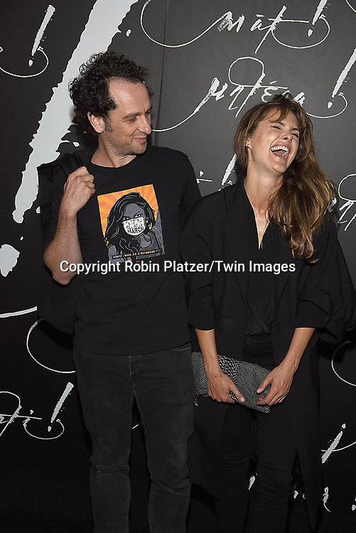 Matthew Rhys and Keri Russell attend the New York Premiere of Paramount Pictures &quot;Mother&quot; on September 13, 2017 at Radio City Music Hall in New York, New York, USA. <br /> <br /> photo by Robin Platzer/Twin Images<br />  <br /> phone number 212-935-0770
