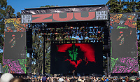 SAN FRANCISCO, CALIFORNIA - AUGUST 11: Denzel Curry performs during the 2019 Outside Lands Music And Arts Festival at Golden Gate Park on August 11, 2019 in San Francisco, California. Photo: Alison Brown/imageSPACE/MediaPunch