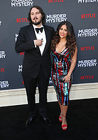 "10 June 2019 - Westwood, California - Kyle Newacheck, Marisa Newacheck. Netflix's ""Murder Mystery"" Los Angeles Premiere held at Regency Village Theater. Photo Credit: Faye Sadou/AdMedia"
