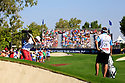 Andy Sullivan (ENG) during the final round of the DP World Golf Championship played at the Earth Course, Jumeira Golf Estates, Dubai 19-22 November 2015. (Picture Credit / Phil Inglis )
