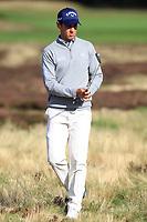 Matteo Manassero (ITA) on the 2nd fairway during Round 3 of the Sky Sports British Masters at Walton Heath Golf Club in Tadworth, Surrey, England on Saturday 13th Oct 2018.<br /> Picture:  Thos Caffrey | Golffile