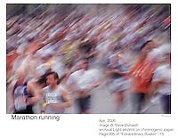 Boston Marathon run, Boston, MA