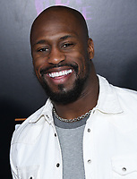 09 March 2019 - Los Angeles, California - Vernon Davis. Grand Opening of Shaquille's at L.A. Live held at Shaquille's at L.A. Live. Photo Credit: Birdie Thompson/AdMedia