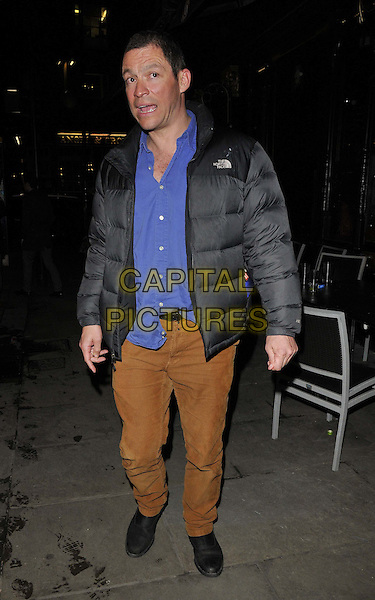 LONDON, ENGLAND - FEBRUARY 25: Dominic West attends the &quot;The Full Monty&quot; press night, Noel Coward Theatre, St Martin's Lane, on Tuesday February 25, 2014 in London, England, UK.<br /> CAP/CAN<br /> &copy;Can Nguyen/Capital Pictures