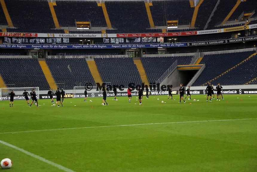 Abschlusstraining der Eintracht - Training zur Begegnung der Europa League Eintracht Frankfurt vs. Girondins Bordeaux