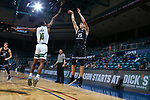 KATY - MARCH 14: Southeastern Louisiana v Central Arkansas University at Merrell Center in Katy on March 14, 2019 at Southland Conference Basketball Championship in Katy, Texas (Photo by Rick Yeatts )