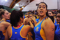 150517 College Netball National Semifinal - Wellington Girls College v Mt Albert Grammar