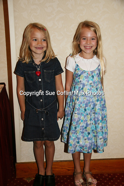 "Lucy Merriam ""Emma Lavery"" & Alexa Gerasimovich ""Kathy Martin"" attend All My Children Fan Luncheon on September 13, 2009 at the New York Helmsley Hotel, NYC, NY. (Photo by Sue Coflin/Max Photos)"