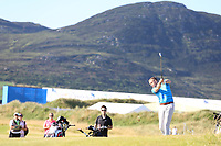 Pat Kelly playing with Kiradech Aphibarnrat (THA) during the ProAm of the 2018 Dubai Duty Free Irish Open, Ballyliffin Golf Club, Ballyliffin, Co Donegal, Ireland.<br /> Picture: Golffile | Jenny Matthews<br /> <br /> <br /> All photo usage must carry mandatory copyright credit (&copy; Golffile | Jenny Matthews)